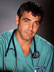 George Clooney as ER's Dr. Doug
