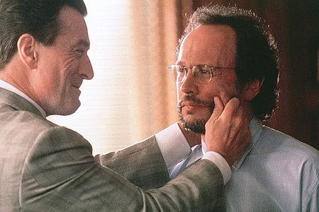 "Robert De Niro and Billy Crystal in ""analyze this"""